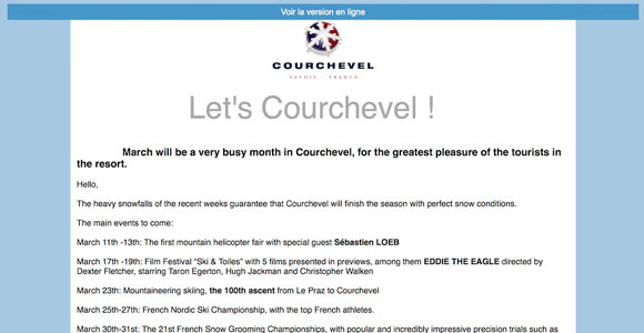 - Courchevel Enquirer
