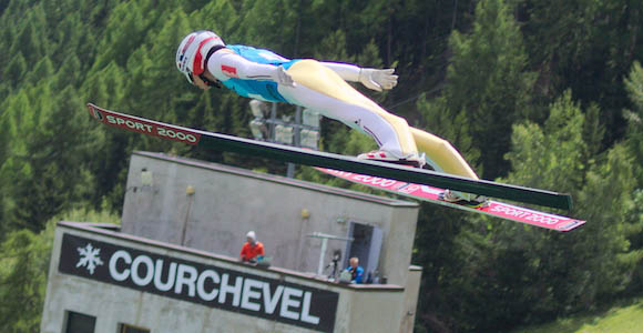 Summer Ski jumping from Courchevel  - Courchevel Enquirer