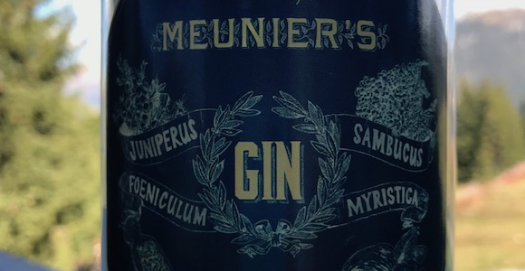 Meunier's Gin - A powerful French gin - Courchevel Enquirer