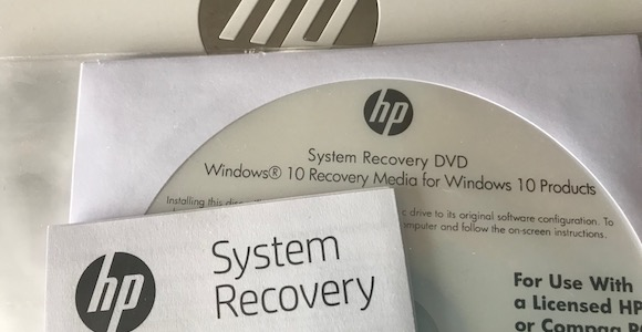 Hp System Recovery Windows 10