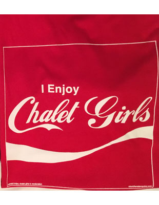 I enjoy chalet girls - Courchevel tshirt